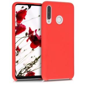 Θήκη Σιλικόνης για Huawei P30 Lite - Red Matte by KW (200-104-777)
