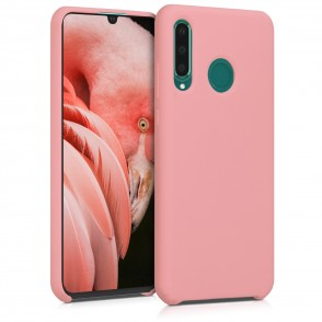 Θήκη Σιλικόνης για Huawei P30 Lite - Soft Flexible Rubber Protective Cover - Rose Gold Matte by KW (200-104-775)