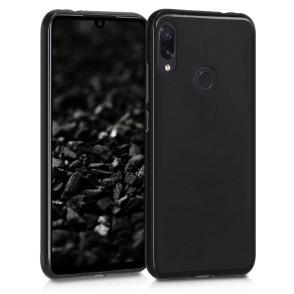 Θήκη σιλικόνης Black Matte για Xiaomi Redmi Note 7 by KW (200-104-155)