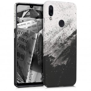 Θήκη για Xiaomi Redmi Note 7 σκληρή - Black/White by KW (200-104-161)