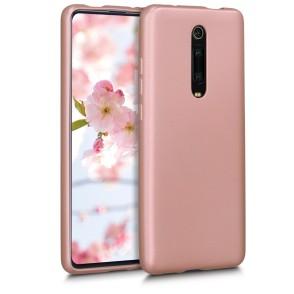 KW Θήκη Σιλικόνης Xiaomi Mi 9T / Redmi K20 Pro - Metallic Rose Gold (49227.31)