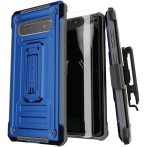 Ghostek Iron Armor 2 - Ανθεκτική Θήκη Samsung Galaxy S10 Plus - Blue (GHOCAS2105)