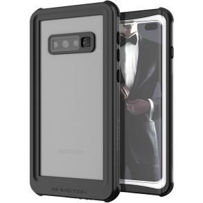 Ghostek Nautical 2 Αδιάβροχη Θήκη Samsung Galaxy S10 Plus - White / Black (GHOCAS2116)
