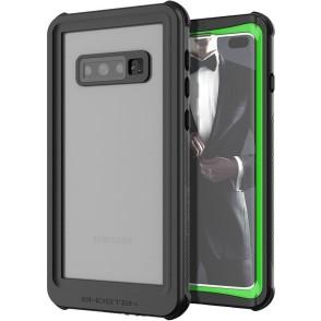 Ghostek Nautical 2 Αδιάβροχη Θήκη Samsung Galaxy S10 Plus - Green / Black (GHOCAS2117)