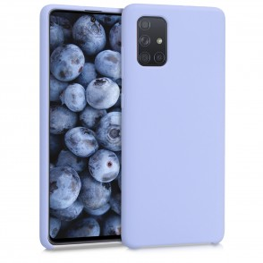 Θήκη Σιλικόνης για Samsung Galaxy A71 - Light Lavender by KW (200-105-638)