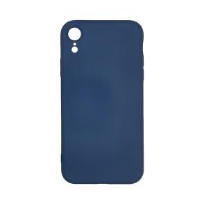My Colors Original Liquid Silicon For iPhone XR μπλε σκούρο (200-107-864)