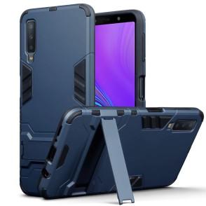 Terrapin Ανθεκτική Dual Layer Θήκη Samsung Galaxy A7 2018 - Blue (131-002-120)