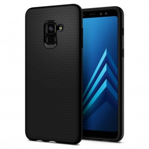 Spigen Galaxy A8 2018 Liquid Air Black (590CS22747)
