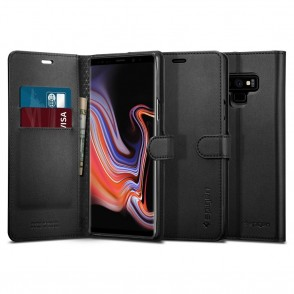 Spigen Samsung Galaxy Note 9 Case Wallet S Black (599CS24579)