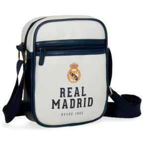 Τσαντάκι ώμου Real Madrid  από συνθετικό δέρμα - Επίσημο προϊόν (100-100-638)