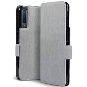 Terrapin Low Profile Θήκη - Πορτοφόλι Samsung Galaxy A7 2018 - Grey (117-002a-091)