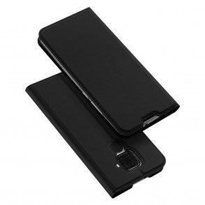 Duxducis Θήκη - Πορτοφόλι Huawei Mate 30 Lite - Black (200-104-521)