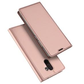 Duxducis SkinPro Flip Θήκη Xiaomi Pocophone F1 - Rose Gold (200-103-066)
