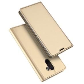 Duxducis SkinPro Flip Θήκη Xiaomi Pocophone F1 -Gold (200-103-065)