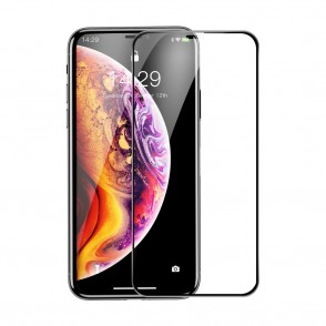 Baseus 3D Full Cover Tempered Glass για Apple iPhone 11 Pro Max  – Black (200-104-343)