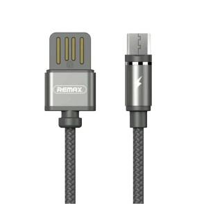 Μαγνητικό Καλώδιο USB/Micro USB - Black by Remax (200-102-718)
