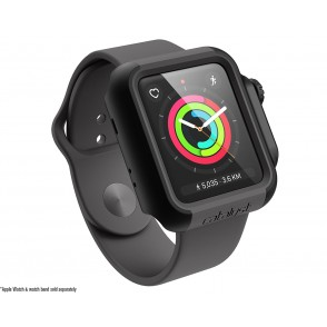 Catalyst Θήκη Impact Protection για Apple Watch 42mm Series 3/2 - Stealth Black (CAT42DROP3TBLK)