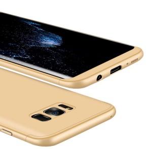 Full Body θήκη για Samsung Galaxy S8 Plus χρυσή OEM (200-102-801)