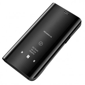 Θήκη Clear View Standing Cover για Xiaomi Redmi 7A μαύρο -OEM (200-104-217)