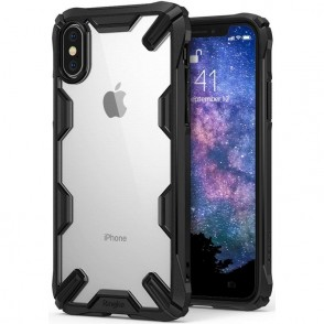 Ringke Fusion-X Θήκη για iPhone XS Max - Black (200-103-075)