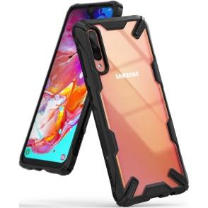 Ringke Fusion-X Θήκη Samsung Galaxy A70 - Black (200-104-189)