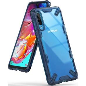 Ringke Fusion-X Θήκη Samsung Galaxy A70- Space Blue  (200-104-185)