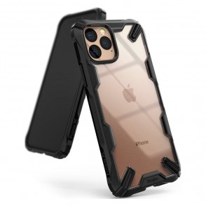 Ringke Fusion-X Θήκη iPhone 11 Pro - Black / Transparent (200-104-568)