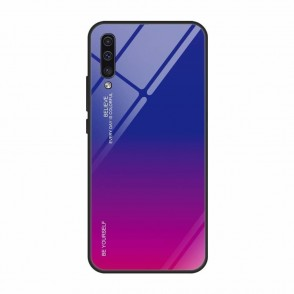 OEM Θήκη Tempered Glass Xiaomi Redmi Note 8 Pro - Blue/Pink (200-104-978)