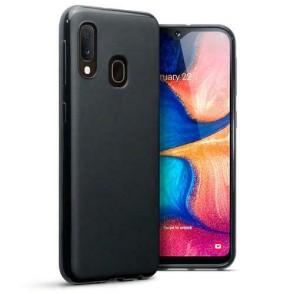 Terrapin Θήκη Σιλικόνης Samsung Galaxy A20e - Black Matte (118-002-778)
