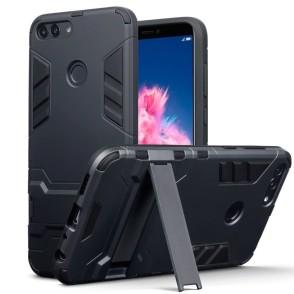 Terrapin Ανθεκτική Θήκη με Stand Huawei P Smart - Black (131-083-057)
