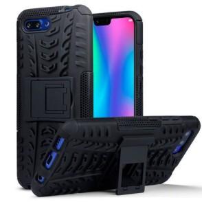 Terrapin Ανθεκτική Θήκη με Stand Huawei Honor 10 - Black (131-083-059)