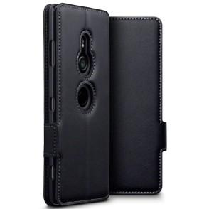 Terrapin Low Profile Δερμάτινη Θήκη - Πορτοφόλι Sony Xperia XZ3 - Black (117-005-638)