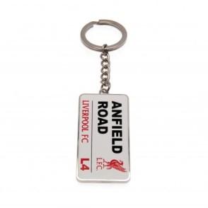 Μεταλλικό Μπρελόκ Liverpool Anfield Road  Επίσημο προϊόν (100-100-487)