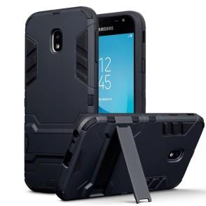 Terrapin Ανθεκτική Dual Layer Θήκη Samsung Galaxy J3 2017 - Black (131-002-066)