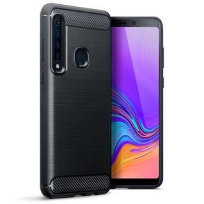 Terrapin Θήκη Σιλικόνης Carbon Fibre Samsung Galaxy A9 2018 - Black (118-002-723)
