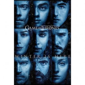 Game of Thrones - Poster Winter is Here - επίσημο προϊόν  (100-100-768)