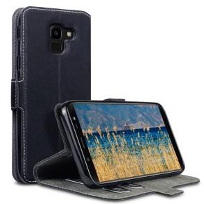 Terrapin Low Profile Thin Θήκη - Πορτοφόλι Samsung Galaxy J6 2018 - Black (117-002a-074)