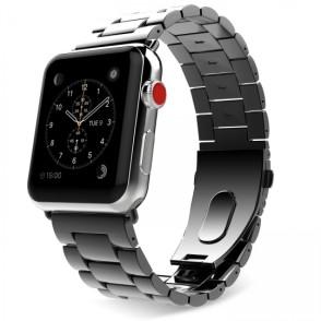 Slimlink Μεταλλικό Λουράκι για Apple Watch 3/2/1 42mm  Black by Tech Protect  (200-102-767)