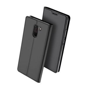 Duxducis SkinPro Flip Θήκη Xiaomi Pocophone F1 - Gray (200-103-068)