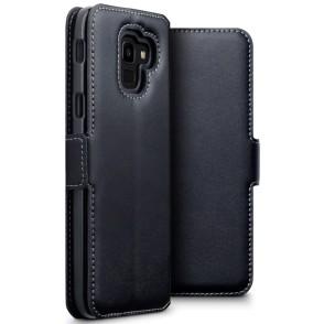 Terrapin Low Profile Δερμάτινη Θήκη - Πορτοφόλι Samsung Galaxy J6 2018 - Black (117-002a-073)