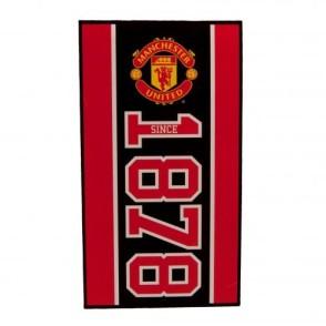 Μεγάλη Πετσέτα Manchester United F.C - επίσημο προϊόν  (100-100-645)