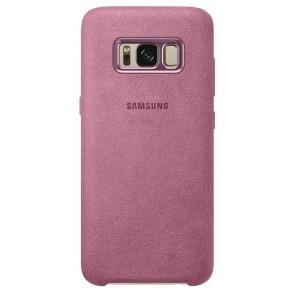 Official Alcantara Σκληρή Θήκη Samsung Galaxy S8 - Pink (EF-XG950APEGWW)