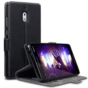 Terrapin Θήκη - Πορτοφόλι Low Profile Nokia 2.1 - Black (117-001-300)