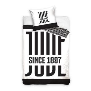 Juventus μόνο σετ παπλωματοθήκης 160 x 200 cm - επίσημο προϊόν (100-100-687)