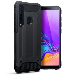 Terrapin Ανθεκτική Θήκη Double Layer Impact Samsung Galaxy A9 2018 - Black (131-002-115)