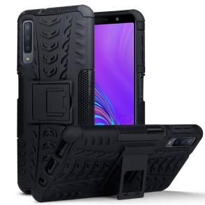 Terrapin Ανθεκτική Θήκη Samsung Galaxy A7 2018 - Black (131-002-118)