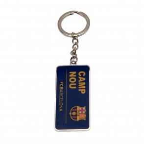 Μεταλλικό Μπρελόκ Barcelona- Camp Nou Επίσημο προϊόν (100-100-487)