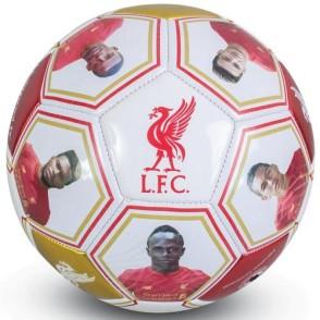 Ποδοσφαιρική Μπάλα Liverpool F.C με υπογραφές και φωτογραφίες -Επίσημο προϊόν  (100-100-485)