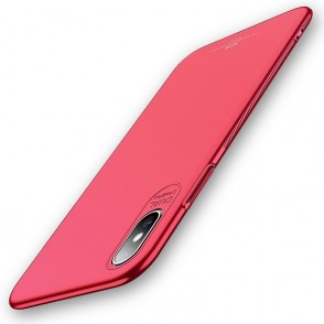MSVII Super Slim Σκληρή Θήκη iPhone Xs Max Red (200-103-170)