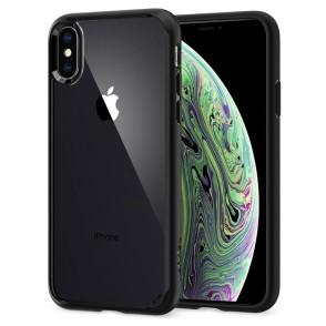 Spigen iPhone X / Xs Ultra Hybrid Matte Black (063CS25116)